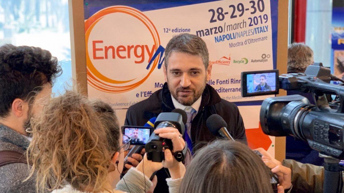 Momento dell'inaugurazione Energymed 2019