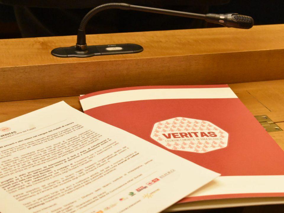 Conferenza stampa Veritas