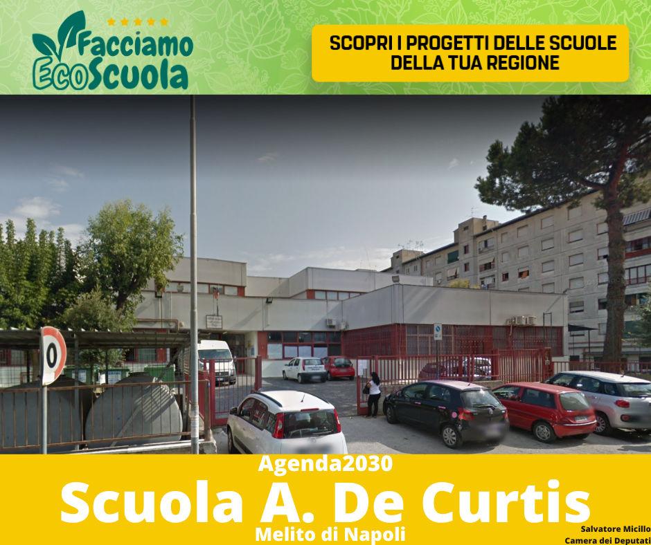facciamo ecoscuola De Curtis Melito