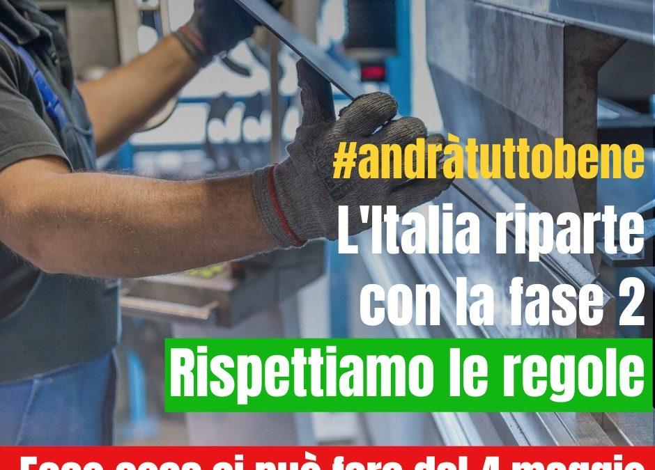 Fase 2 Italia riparte
