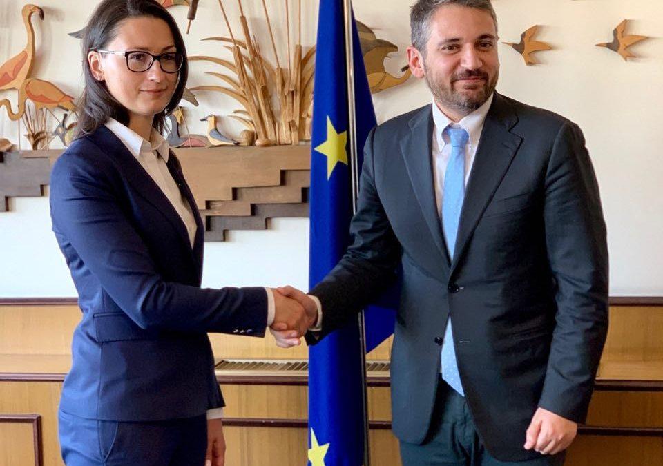 Incontro con viceministro Polacco