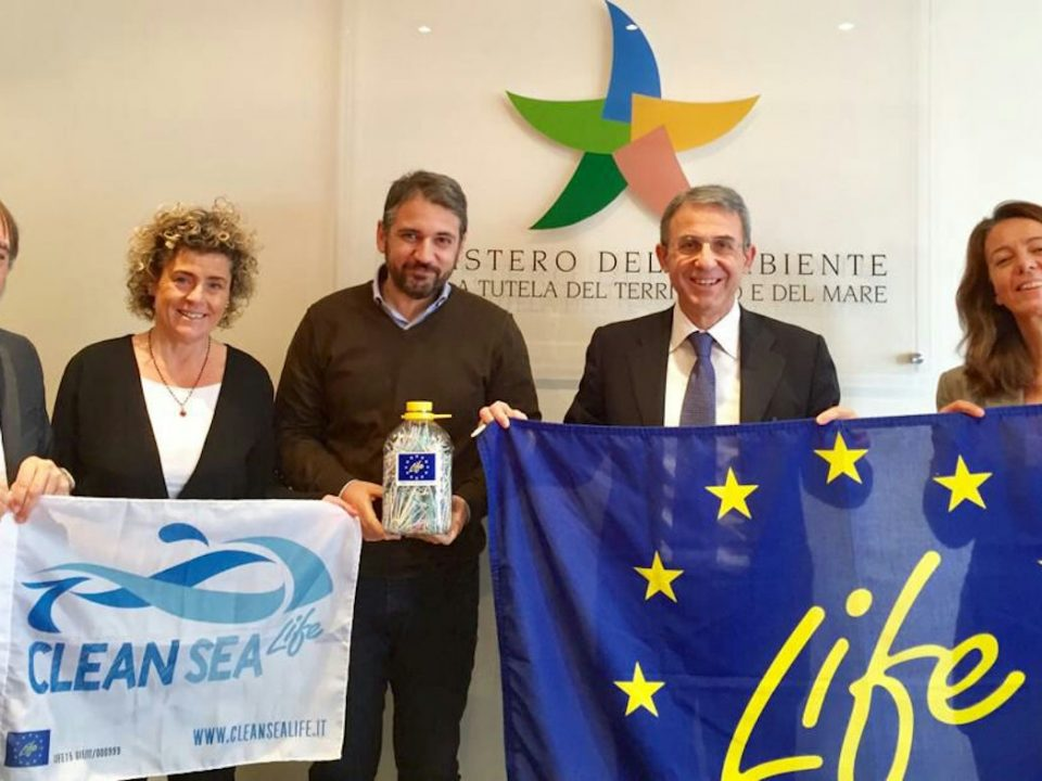 Salvatore Micillo Incontro con Clean Sea Life