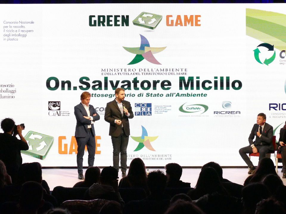 Salvatore Micillo finale Green Game2018