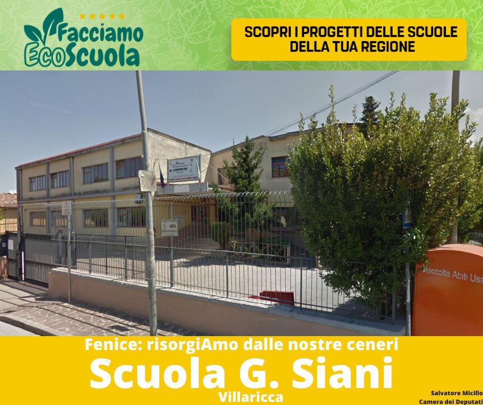 Scuola Giancarlo Siani Villaricca Facciamo ecoscuola