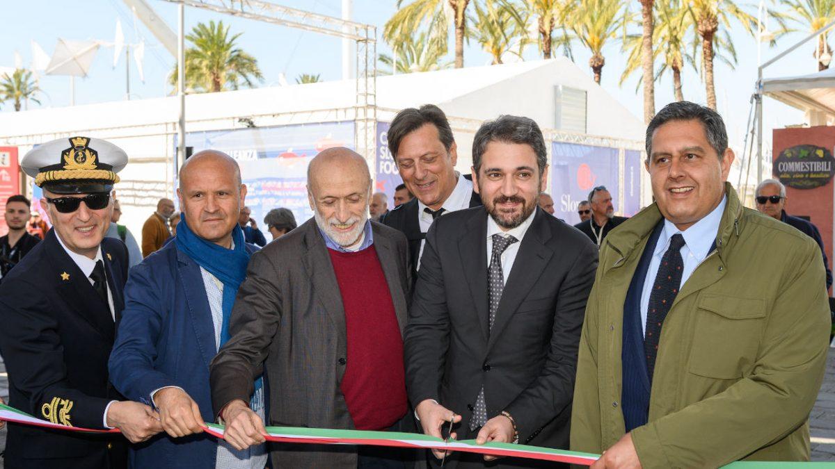 Inaugurazione Slow fish Genova 9 maggio 2019