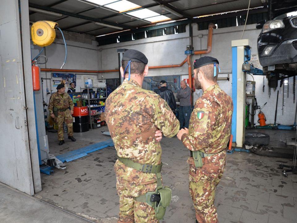 Operazione interforze contro la terra dei fuochi 22 giugno 2019