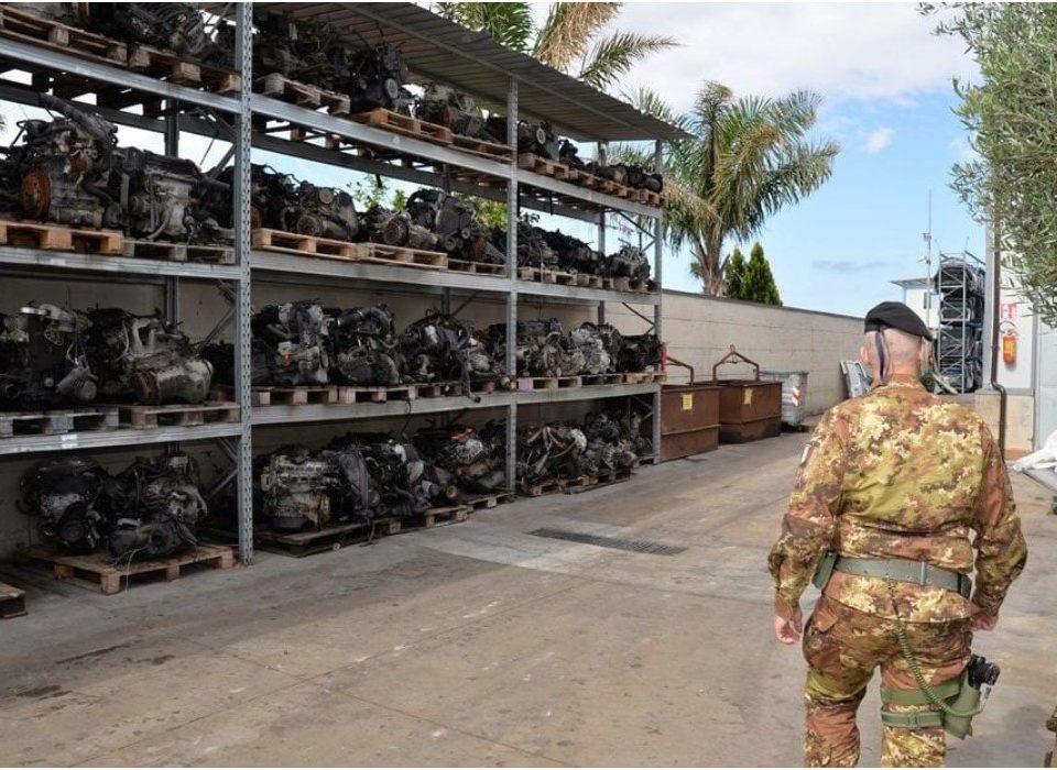 Operazione interforze contro la terra dei fuochi del 30 maggio 2019