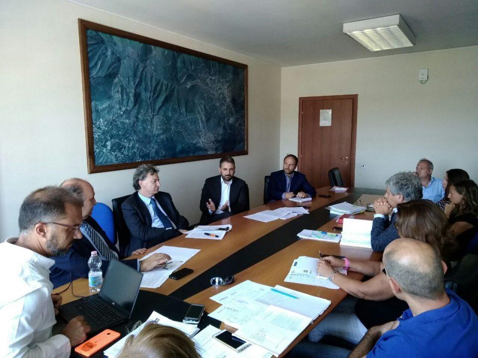Salvatore Micillo Tavolo tecnico con Regione Campania 5 settembre 18