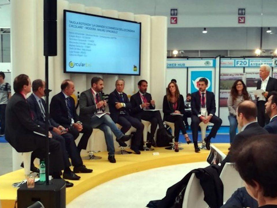 Salvatore Micillo ad ENI Marker Faire Rome 2018