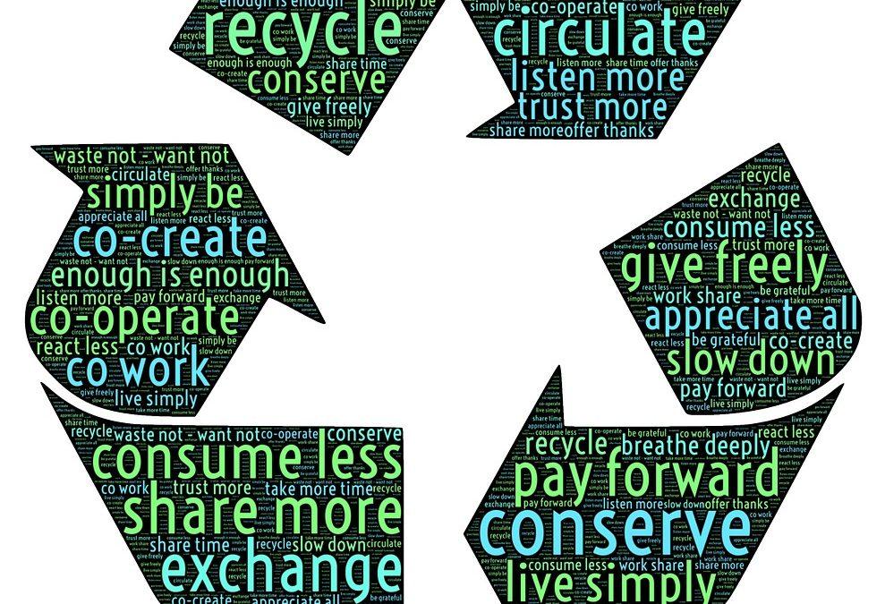 economia circolare riciclo riuso