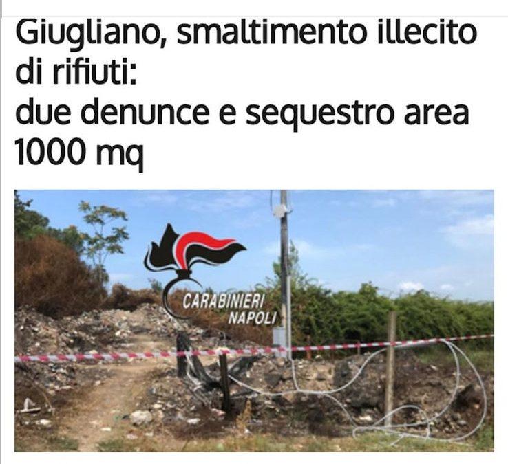 Operazione a giugliano terra dei fuochi
