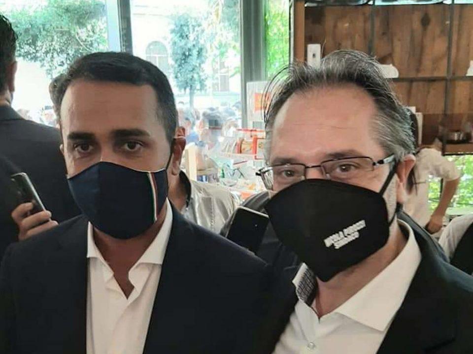 Ministro Luigi Di Maio e Nicola Pirozzi